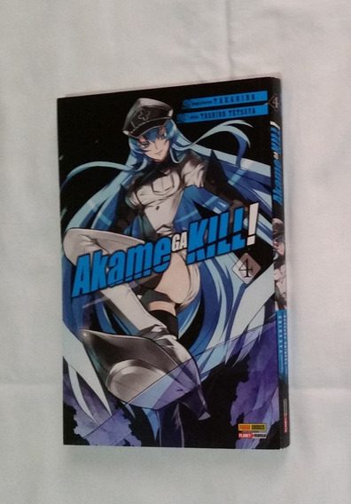 Manga Akame Ga Kill Volume 4