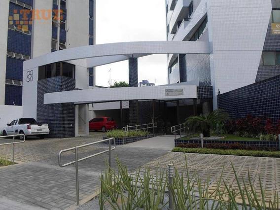Apartamento Com 3 Dormitórios À Venda, 96 M² Por R$ 767.000 - Torre - Recife/pe - Ap3539