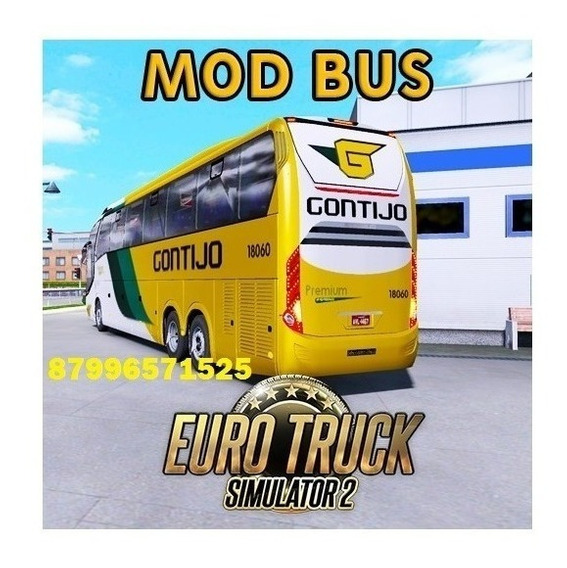Euro Truck Simulator 2 Mod Bus 2020 V1.36