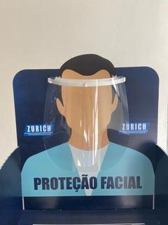 Máscara Protetora Facial Face Shield 2 Unidades