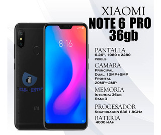Xiaomi Redmi Note 6 Pro De 32gb
