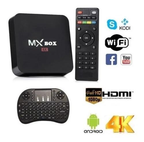 Tv Box Full Hd 4k 8gb Ram + 128gb Rom + Mini Teclado | Mercado Libre