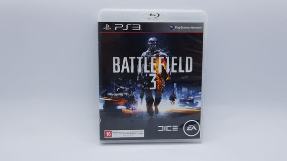 Battlefield 3 - Ps3 - Midia Fisica Em Cd Original