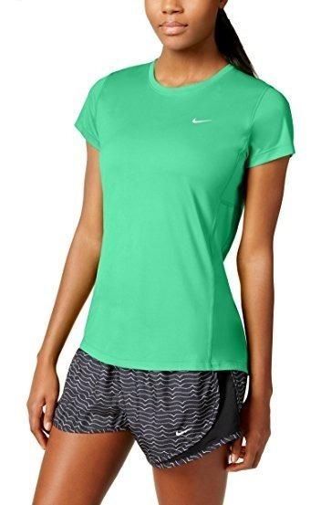 Remera Nike Miler Running Dri Fit Mujer Uv Original - Usa