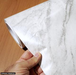 Revestimento Adesivo Mármore Carrara 5m X 60cm