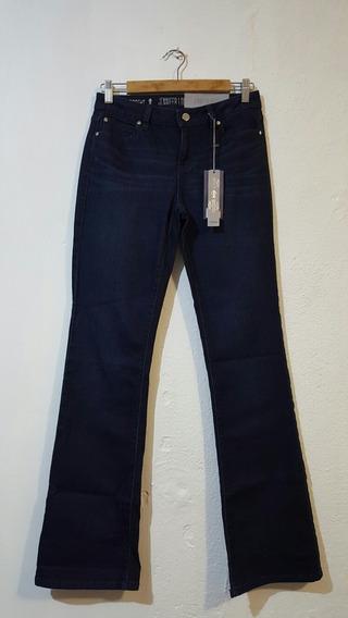 Jeans Pantalón Azul Corte Bota Jennifer López Talla 4 Chica