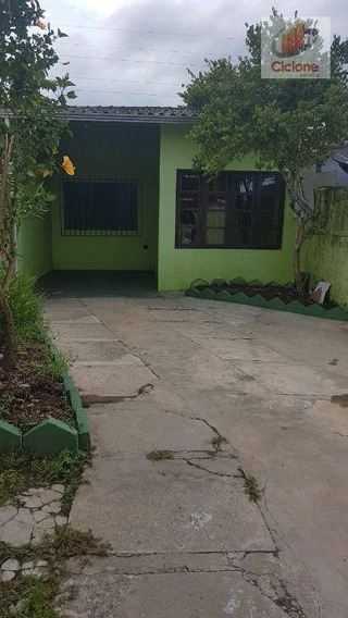 Casa Com 3 Dormitórios Para Alugar, 100 M² Por R$ 750,00/mês - Corumbá - Itanhaém/sp - Ca0578
