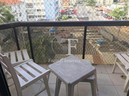 Apartamento Com 2 Dormitórios À Venda, 68 M²  - Enseada - Guarujá/sp - Ap9530
