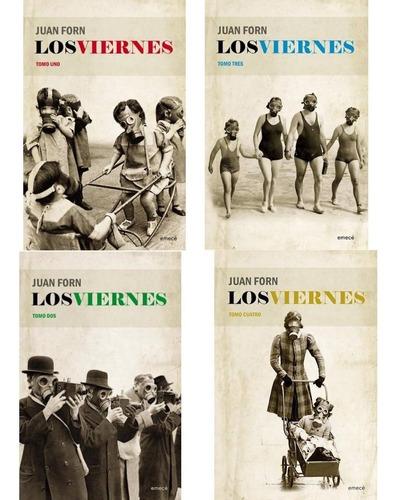 Imagen 1 de 6 de Pack: Los Viernes - Forn Juan (4libros)