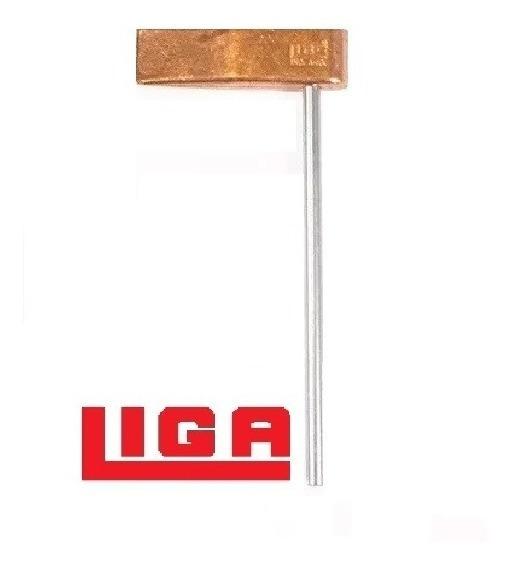 Martillo Estañador Cobre 150gr C/varilla Smlg-109 Liga X1u