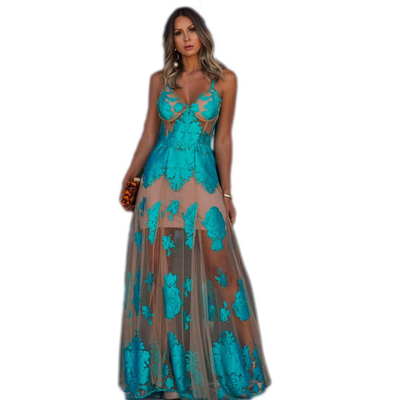 Vestido Longo Madrinha Casamento Formatura Tifany #vl14