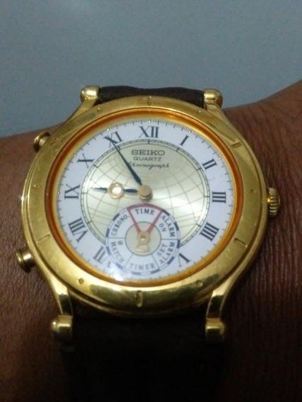 Relógio Seiko Vintage Chronograph Raro Para Colecionador.