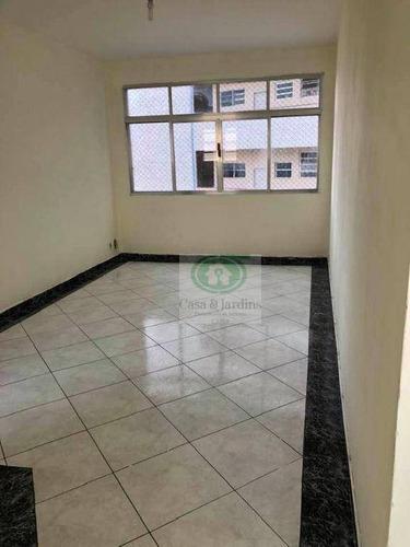 Imagem 1 de 15 de Apartamento No Jose Menino Perto Do Emissário Com Uma Suíte. - Ap6773