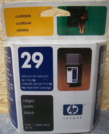 Cartucho Hp 29 Y Cartucho Epson Color