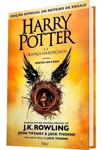 Livro Harry Potter E A Criança Amaldiçoada - Partes 1 E 2 #
