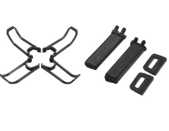 Apoios Drone Eachine E58 + Protetores De Helices E58