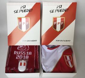 Peru Mundial Rusia 2018 Paquete Regalo Copa Mundo