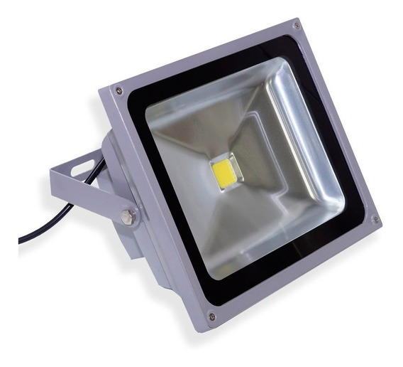 Refletor Led Verde Holofote 20w Super Led Ip65 Bivolt