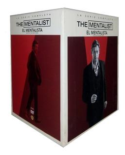 El Mentalista Serie Completa Temporadas 1 2 3 4 5 6 7 Dvd
