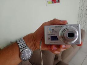 Câmera Sony Ciber-shot Semi Nova, Ótimas Fotos, 14.1 Mp