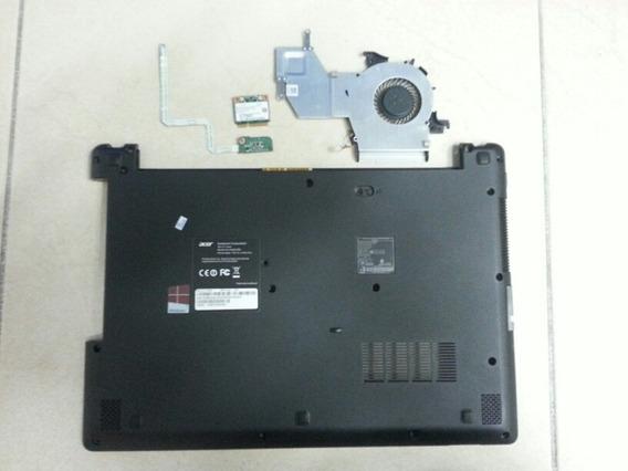 Carcaça Inferior Es1-411-p5m3 + Cooler + Placa Power..(031)