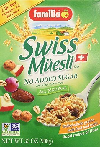 Familia Cereal Muesli Sin Azúcar Agregado (paquete De 3)