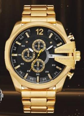 Relógio Cagarny 6839 Com Caixa Pronta Entrega No Brasil!!!!!
