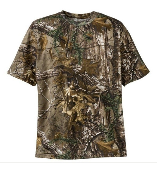 Playera Realtree Tactica Caceria Expedicion Follaje Nueva