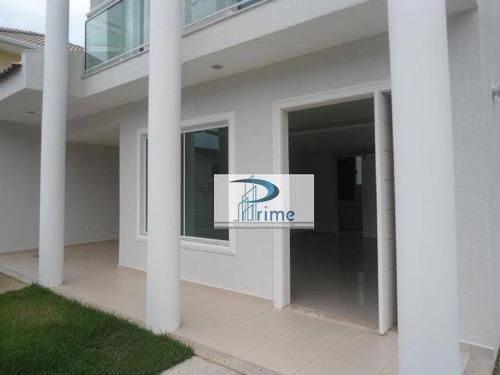 Casa Com 3 Dormitórios À Venda, 140 M² Por R$ 750.000,00 - Maravista - Niterói/rj - Ca0358