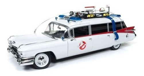 Auto World Ertl Ghostbusters Ecto 1 1/18