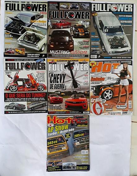 Hot Rods Carros Antigos E Raros C / 7 Revistas Frete Grátis