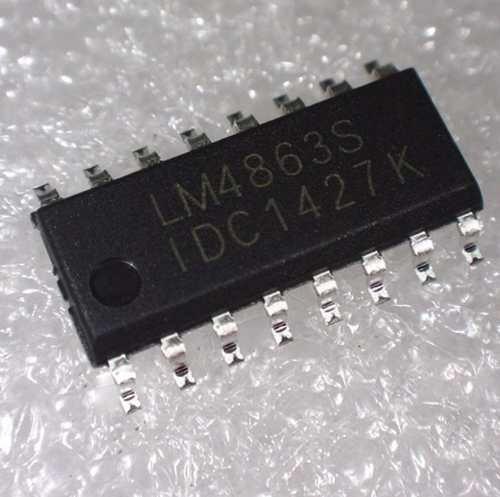 Ci Lm4863 Lm4863s Sop-16 Original