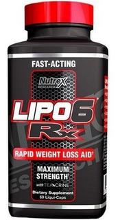 Lipo 6 Rx 60 Liquid-caps Nutrex