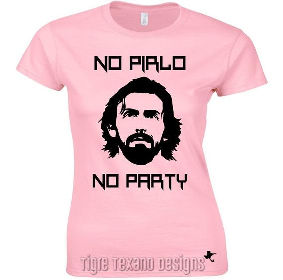 Playera No Pirlo No Party Fútbol M1 By Tigre Texano Designs