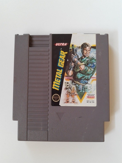 Metal Gear Nintendinho Original Americano! Funcionando 100%!
