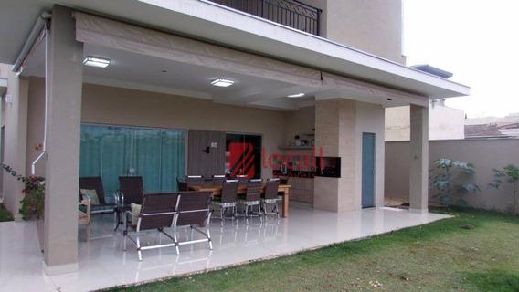 Casa Residencial À Venda, Residencial Gaivota I, São José Do Rio Preto. - Ca1236