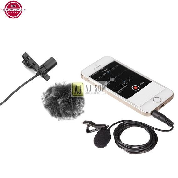 Kit Completo De Microfone Lapela P/gravação Profissional