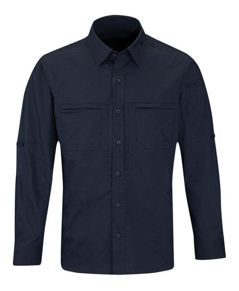 Propper Hlx Navy Camisa Tac Ideal 42 En Jeans Checa Medidas
