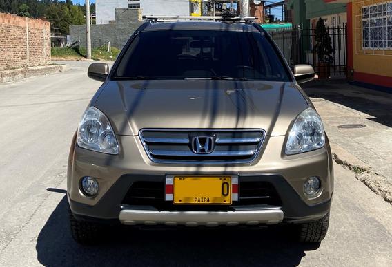 Honda Cr-v At 4x4 2006 2.4 Gasolina