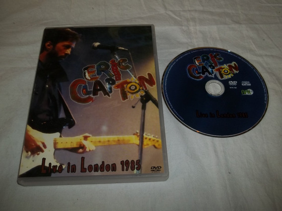 Dvd - Eric Clapton - Live In London 1985