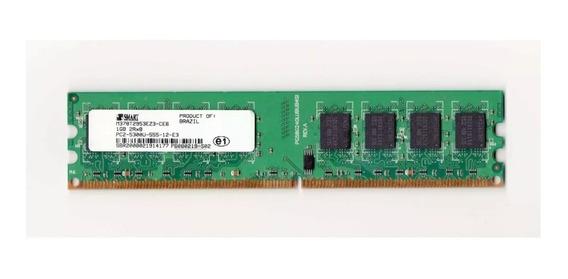Memória Smart 1gb 667mhz Ddr2 Pc2-5300u-555-12-e3 Dell Hp