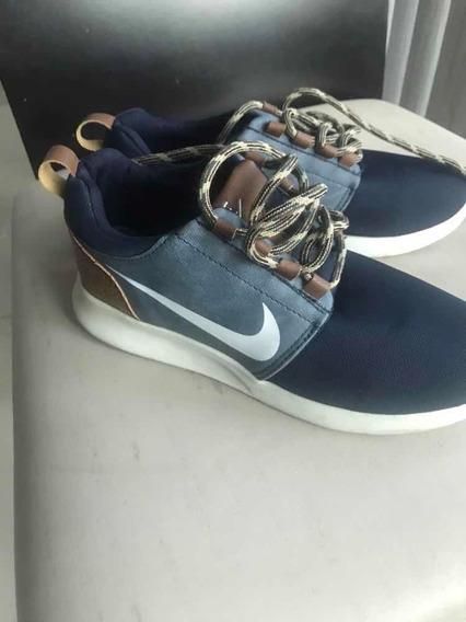 Tenis Nike Azul Tipo Mezclilla