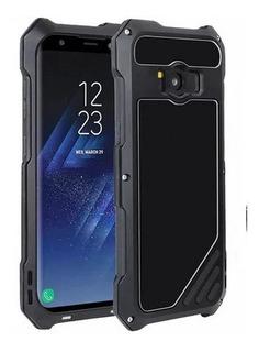 Capa Case Galaxy S9 Plus Anti Shock Impacto Aluminio Queda