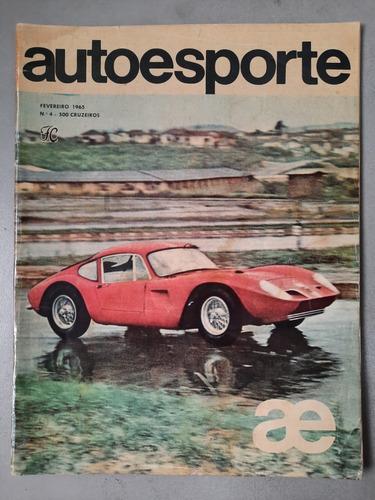 Revista Auto Esporte Nº4 Fevereiro 1965 F1 Gp Simca Gt R462