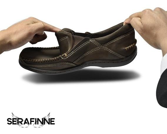 Zapato Urbano Vestir Cuero Hombre Careva Náutico 3020