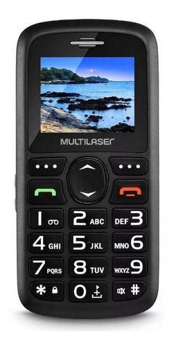 Telefone Celular Preto Vita 3g Dual Chip Usb Bluetooth 1,8