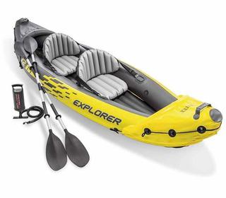 Kayak Inflable Intex Explorer K2 Kayak