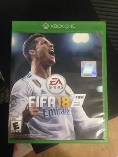 Fifa 18 Físico Para Xbox One En Excelnete Estado.