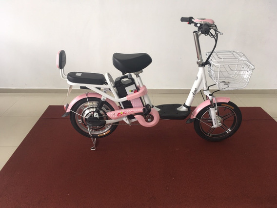 Bike Eletrica Aima Cor Rosa