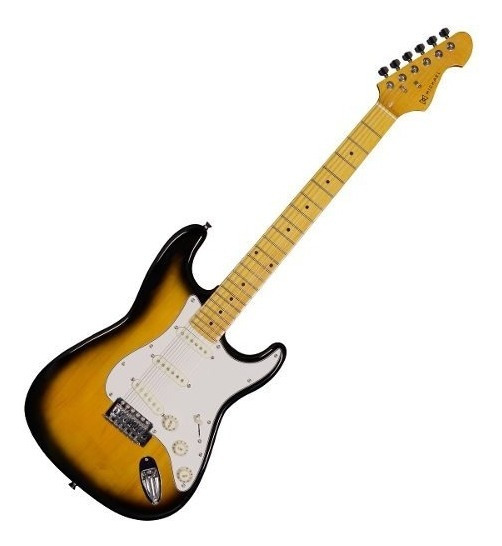 Guitarra Strato Stonehenge Gm 222 N Vs - Michael